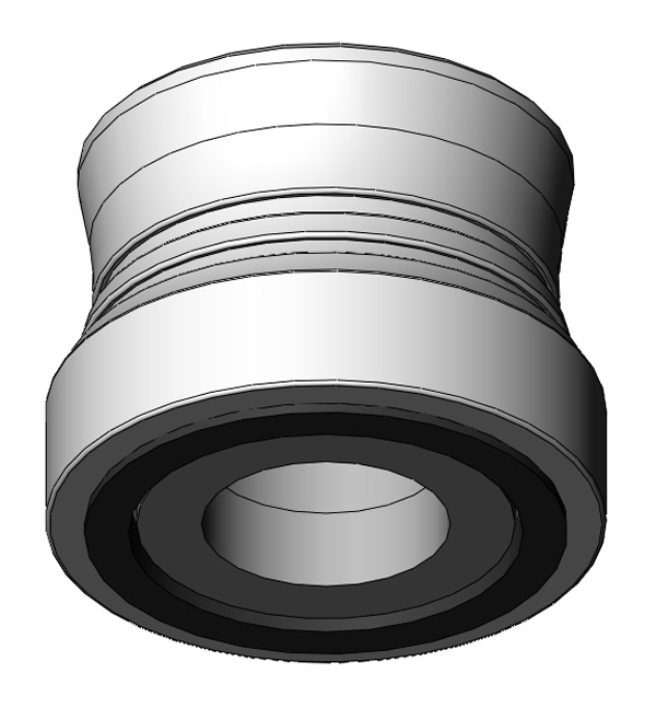"""Blank BHL assembly for fastener head diameters greater than 0.5"""""""
