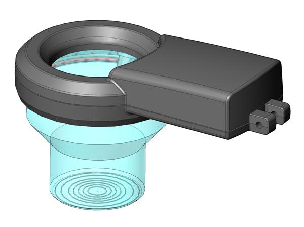 LED Illuminated Vacuum FHL Optical sight