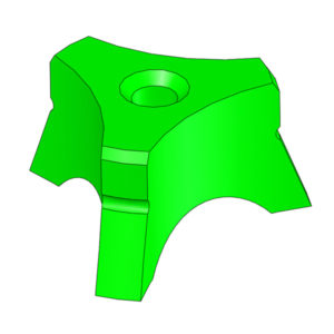 "Electrode Guide 3/32"", Nominal, Green"