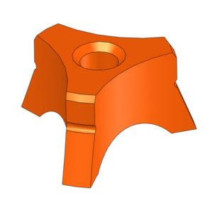 "Electrode Guide 1/8"", Nominal, Orange"