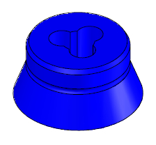 "Electrode Guide 5/32"", Nominal, Blue"