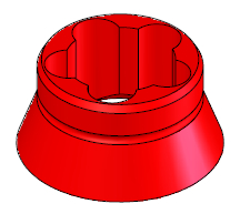 "Electrode Guide 5/16"", Nominal, Red"