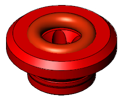 "Vacuum FHL Electrode Guide 5/16"", Nominal, Red"