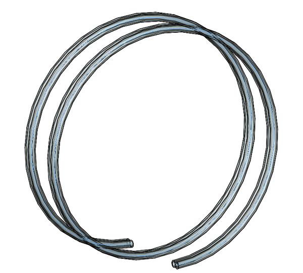 Fill/ Drain Tubing, 4 ft.