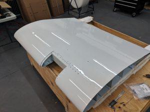 Global 5000 inboard flap